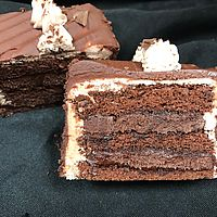 Double Fudge slice